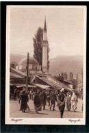 BOSNIA Sarajevo Bašcaršija Ca 1920 OLD POSTCARD - Bosnia And Herzegovina