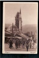 BOSNIA Sarajevo Bašcaršija (2) Ca 1920 OLD POSTCARD - Bosnia And Herzegovina