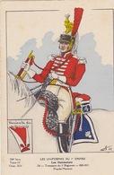 Uniformes Du 1er Empire  Trompette Du 4eme Régiment ( Carte Tirée à 400 Ex ) - Uniformen