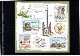 Blocs & Feuillets N° 53 **--Capitales Européennes--ROME--2002-- Timbres N° 3527 à 3530 - Blocs & Feuillets