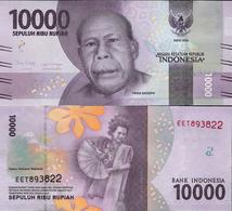 Indonezja 2016 - 10000 Rupiah - Pick NEW UNC - Indonésie