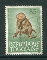 TOGO- Y&T N°405- Oblitéré (singes) - Togo (1960-...)