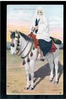 BOSNIA  Türkin Zu Pferde Turkinja Na Konju Ca 1920 OLD POSTCARD - Bosnia And Herzegovina