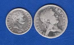 1/2  Fr 1809 + Franc  1811a - G. 50 Centimes