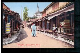 BOSNIA  Sarajevo Landesübliche Ducans Ca 1920 OLD POSTCARD - Bosnia And Herzegovina