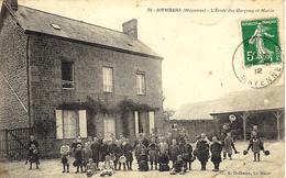 36- HAMBERS -l'Ecole Des Garçons Et Mairie -ed/ A Dolbeau - France