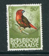 TOGO- P.A Y&T N°39- Oblitéré (oiseaux) - Togo (1960-...)