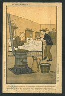 "PIERRE FALKE - SATYRIKON N. 20 Assiette Au Beurre 1909 ""In Infermeria"" - Humor"