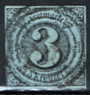 Germania Thurn E Taxis - Sud 1852 Unif.33 O/Used VF/F - Thurn Und Taxis