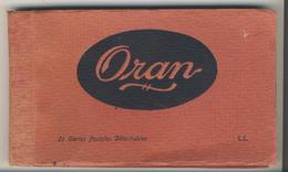 Oran - Carnet Complet De 20 Cartes Postales - Oran