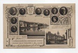 - CPA TORINO (Turin / Italie) - COMMEMORATIVA DELL'ESPOSIZIONE INTERNAZIONALE DELLE INDUSTRIE E DEL LAVORO 1911 - - Tentoonstellingen