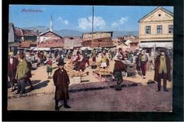 BOSNIA Sarajevo Marktszene Ca 1920 OLD POSTCARD - Bosnia And Herzegovina