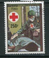 BURKINA- P.A Y&T N°318- Oblitéré (croix Rouge) - Burkina Faso (1984-...)