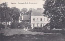 Landen -chateau De M. Le Bourgmestre - Landen