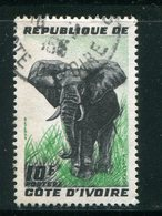COTE D'IVOIRE- Y&T N°177- Oblitéré (éléphants) - Côte D'Ivoire (1960-...)