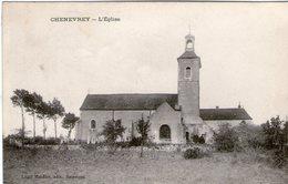 (Hte Saone)  CPA  Chenevrey  Eglise  (Bon Etat) - Frankrijk