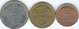 Iraq - Republic - AH1425 (2004) - 25, 50 & 100 Dinars (KMs 175-177) - Iraq