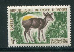 COTE D'IVOIRE- Y&T N°211- Neuf Sans Charnière ** (céphalophe) - Côte D'Ivoire (1960-...)