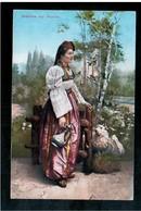 BOSNIA Mädchen Aus Bosnien Ca 1920 OLD POSTCARD - Bosnia And Herzegovina