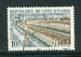 COTE D'IVOIRE- Y&T N°270- Oblitéré - Côte D'Ivoire (1960-...)