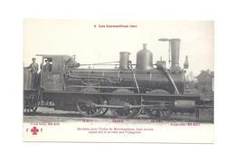 LES LOCOMOTIVES EST  MACHINE POUR TRAINS DE MARCHANDISES  AYANT FAIT TYPE 0.270  POIDS 31T510    N°4 - Trains