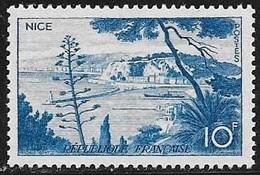 N° 1038   FRANCE  -  NEUF  -   LE PORT DE NICE  -  1955 - Unused Stamps