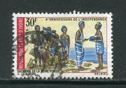 COTE D'IVOIRE- Y&T N°279- Oblitéré - Côte D'Ivoire (1960-...)