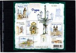 Blocs & Feuillets N° 126 **--Capitales Européennes--PRAGUE--2008-- Timbres N° 4301 à 4304 - Neufs