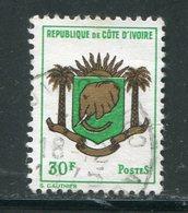 COTE D'IVOIRE- Y&T N°291- Oblitéré (armoiries) - Côte D'Ivoire (1960-...)