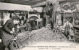(Hte Saone)  CPA  Fougerolles  Distillerie Lemercier Freres La Tonnellerie ( Bon Etat) - Andere Gemeenten