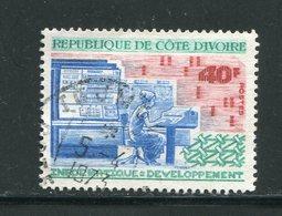 COTE D'IVOIRE- Y&T N°340- Oblitéré - Côte D'Ivoire (1960-...)