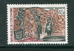 COTE D'IVOIRE- Y&T N°359- Oblitéré - Côte D'Ivoire (1960-...)