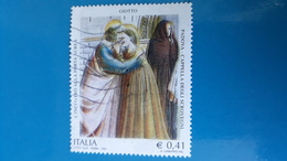 Italia 2003 GIOTTO PADOVA (COLORE DEL GIALLO SPOSTATO VERSO DESTRA )) - Abarten Und Kuriositäten