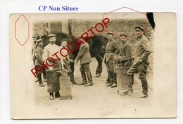 MARECHAL FERRANT-Cheval-Technique-CARTE PHOTO Allemande-Guerre 14-18-1WK-Militaria- - Oorlog 1914-18