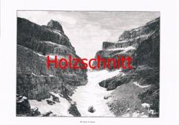 048 Brentagruppe Bocca Di Brenta Dolomiten Großbild 1899!! - Historische Dokumente