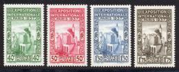 Algerie 1937 Yvert 127 / 130 ** TB - Ongebruikt