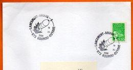 973 KOUROU LANCEMENT ARIANE 5  2000  Lettre Entière N° HH 847 - Postmark Collection (Covers)