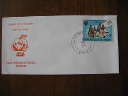 FDC  Enveloppe  Niger Niamey  Coupe Du Monde De Football  1981    à Voir - Niger (1960-...)