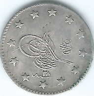 Turkey - Ottoman - Abdul Hamid II - AH1293 / 28 (1903) - 1 Kurus - KM735 - Turkije