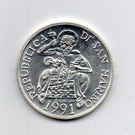 "San Marino - 1991 - 1000 Lire FDC - ""Verso Barcellona 1992"" - Argento 835 - (MW2209) - San Marino"