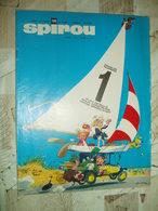 SPIROU NO 1576--06/1968-RC DIVERS-AVEC PLAN DU SPIROU KART - Spirou Magazine