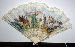 """Eventail Vintage """"Am Romantischen Rheim"""" - Fans"""