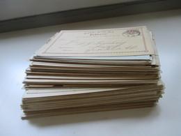 Deutsches Reich Ganzsachen 1873 - 40er Jahre 196 GA Viele Aus Dem Bedarf Aber Auch Ungebraucht! Schöner Posten!! - Collections (without Album)