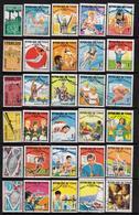 République Du Tchad - Collection Depuis 1961 - 45 Timbres Neufs Et Oblitérés - Tchad (1960-...)