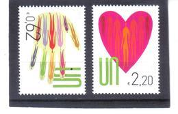 NEU79  UNO WIEN 2013  MICHL 766/67 SATZ  ** Postfrisch SIEHE ABBILDUNG - Wien - Internationales Zentrum