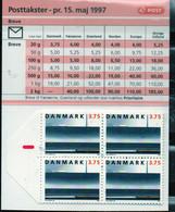 PIA-DAN- 1997 : Carnet Di 37,50 Kr - S 89 - Ponte Ferroviario Sul Grand-Belt - (Yv C 1153) - Booklets