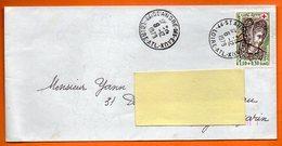 MAURY  N° 2075  JEANNE D'ARC  44 ST ANDRE DES EAUX 1979  Lettre Entière N° OO 636 - Marcophilie (Lettres)