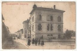 01 - VILLARS-LES-DOMBES - Ecole Des Filles - 1905 - Villars-les-Dombes