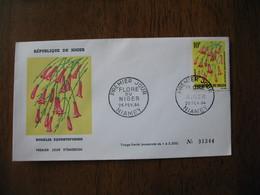 FDC  Enveloppe  Niger Niamey  Fleurs  1964    à Voir - Niger (1960-...)
