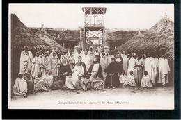 ETHIOPIE  Harar  Groupe General De La Leproserie Ca 1915 OLD  POSTCARD - Ethiopië